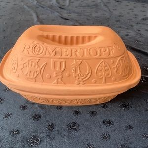 Romertopt Rare Clay terra cotta roaster/Bakeware